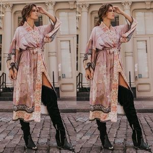 Free People Spell & The Gypsy Cherry Blossom Kimon